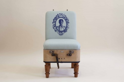 The Suitcase Chair by REcreate