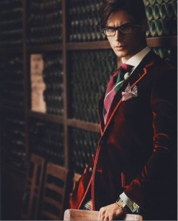 nothingbutremarkable:  Where does one find a red velvet blazer?