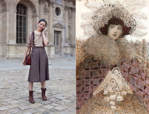 Miss x Moss matches street style and art. I'm impressed! art on the streets | Miss Moss