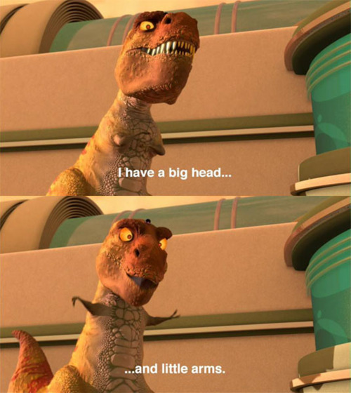 Watching Meet the Robinsons. Seriously, SUCH a good Disney movie. :)  And a talking T-Rex? Perfect.
