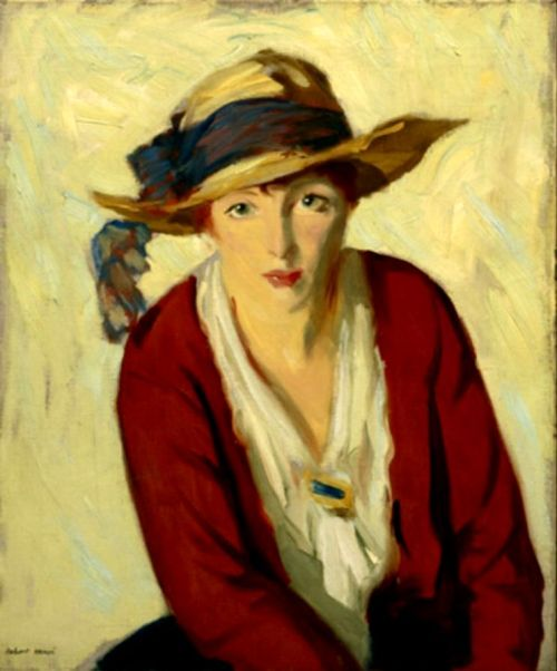 paperimages:  Robert Henri The Beach Hat