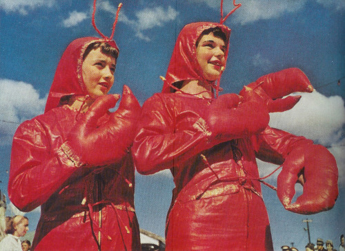 Annual Lobster Festival, Maine, USA, 1952