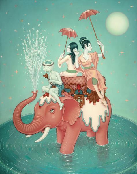"squishyapocalypse:  Tara Mcpherson's ""The Weight Of Water"""