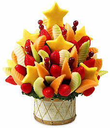Edible arrangements!