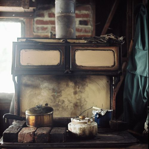 'old school' kitchen