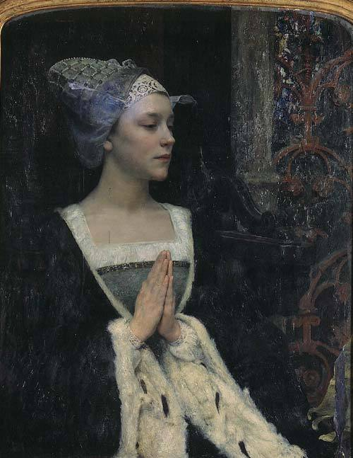 Edgar Maxence - Sérénité - 1912 via my-museum-of-art