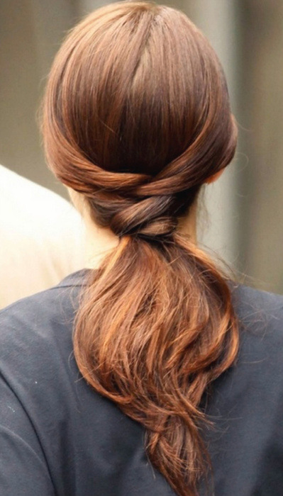 everythingfab:  Hair Inspiration: A Chic PonyTail!