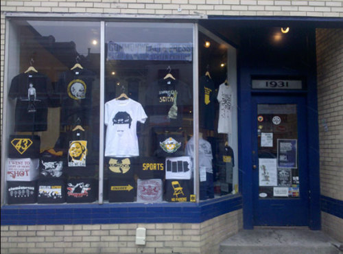Our new window display.  Come check it out at 1931 E. Carson St., Pittsburgh, PA 15203!
