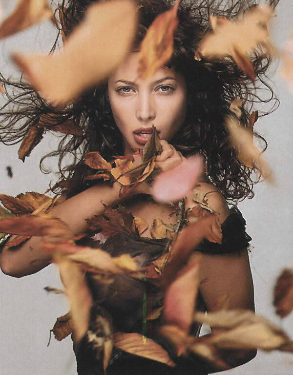 Pirelli Calendar, October 1995Photographer: Richard AvedonModel: Christy Turlington