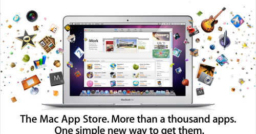 Apple launches the Mac App Store. What will you be downloading? Angry Birds at a discounted $5?