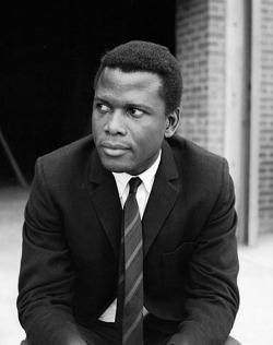 theimpossiblecool:  Poitier.