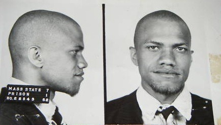 Malcolm Little, Massachusetts Prison Mug Shot, 1952
