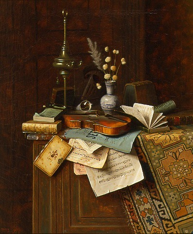 William Michael Harnett Still Life 1887