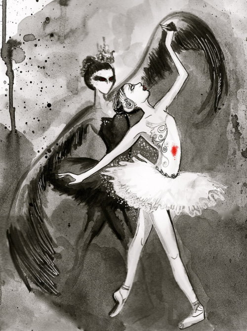 filmspired:  Black Swan by Courtney Thomas