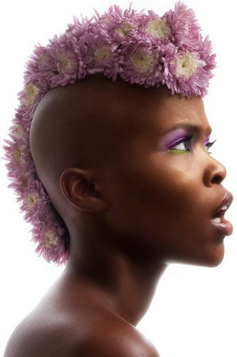 hybridchic:  Love the floral mohawk!  OMG FAIRY