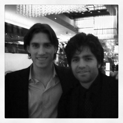Me and Vinny Chase (Taken with Instagram at The Cosmopolitan Resort & Casino)