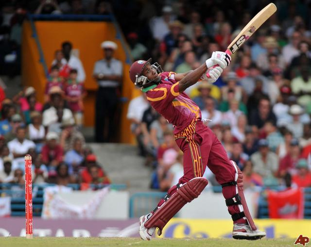 oliviadehavillands:  I've always thought that Windies cricketers had the most AWESOME names eg. Vivian, Garfield, etc. Dwayne Bravo is not an exception!