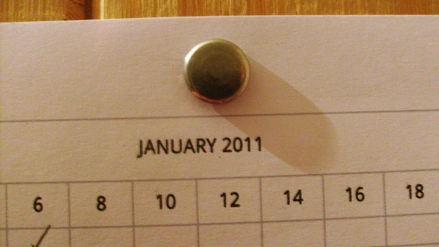 Word of the day: January / Enero.  The ancient Roman calendar had ten months (March to December), six of which had thirty days and four had thirty-one days, giving a total of three hundred and four days, plus a winter period of sixty days during which no date was recorded.  According to tradition, the second king of Rome, Numa Pompilius, established in the eighth century BC the months of January and February.  January — Latin, Januarius — with thirty-one days, was created in homage to the god Janus, who ruled the entrances and beginnings, and became the first month of the year.   El antiguo calendario romano tenía diez meses, desde marzo hasta diciembre, seis de treinta días y cuatro de treinta y un días, lo que daba un total de trescientos cuatro, más un lapso invernal de unos sesenta días durante el cual no se registraba la fecha.  Según la tradición, el segundo rey de Roma, Numa Pompilio, estableció en el siglo VIII a. de C. los meses de enero y febrero.   Enero —en latín, Januarius—, con treinta y un días, fue creado en homenaje al dios Jano, que regía las entradas y los comienzos, y pasó a ser el primer mes del año, desplazando a marzo, pues los cónsules se elegían en enero. Source / Fuente.