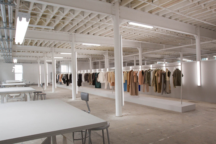 Céline showroom in Paris