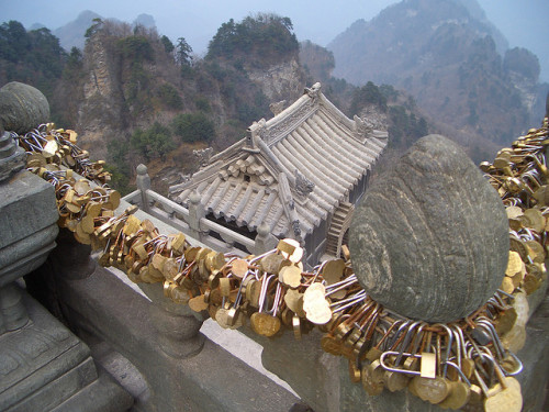 Lover's Locks, Wudang Mountains - China