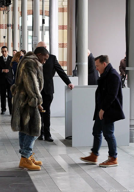 Kanye West and Scott Schuman (aka The Sartorialist)