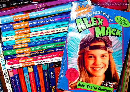 The Secret World of Alex Mack book series (1995-1998)