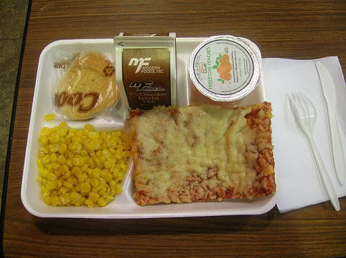 Lunchroom Pizza
