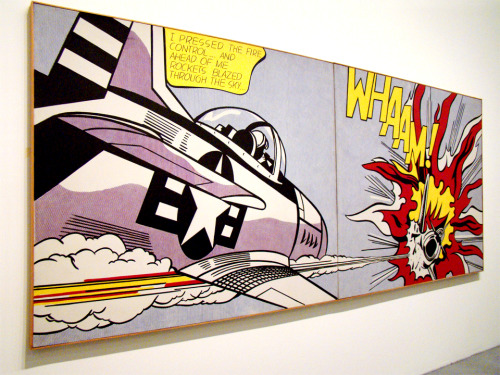 agirlirl:  Whaam! by Roy Lichtenstein, taken at the Tate.