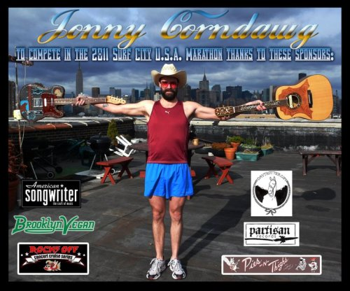 Jonny Corndawg is running a marathon #countrystrong. His song When A Ford Man Turns to Chevy is in Open Five.