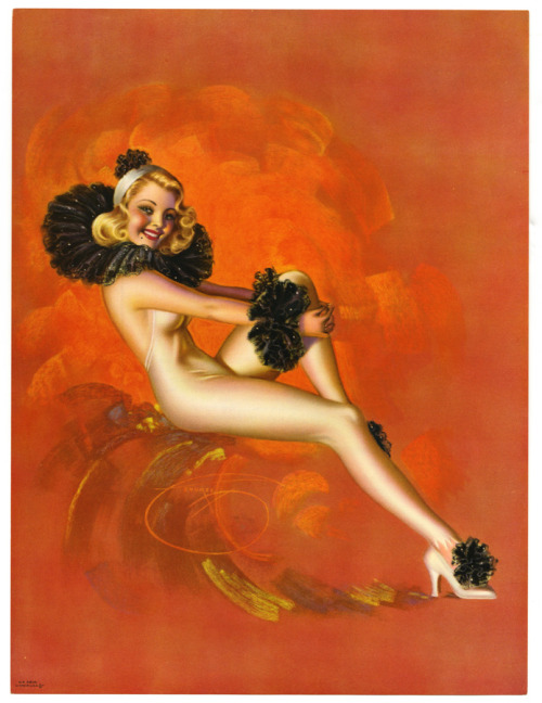 """Pierrette"" by Billy DeVorss 1940's"