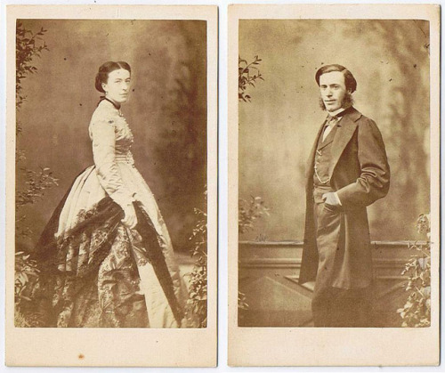 French Couple, ca 1860
