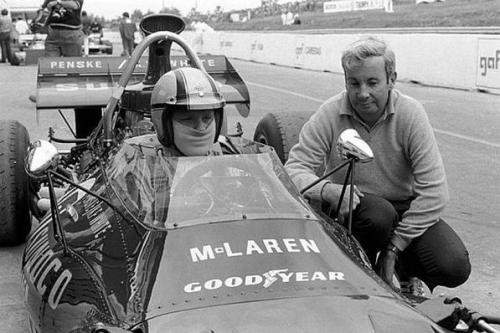 McLaren M19A (Mark Donohue) Good morning followers, may your Monday be utterly cool.