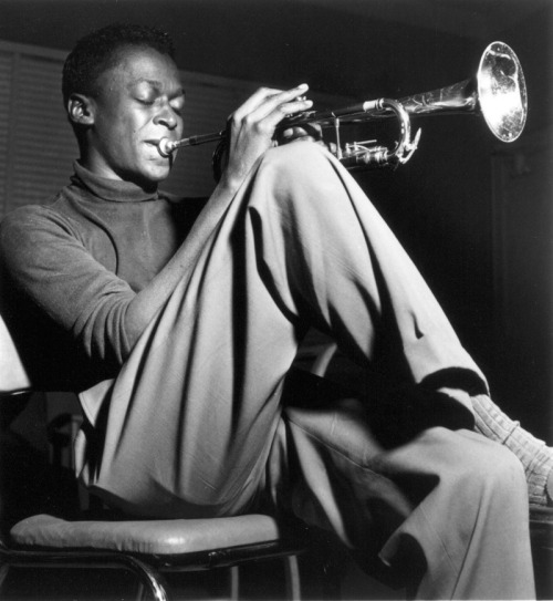 Miles Davis © photo by Francis Wolff