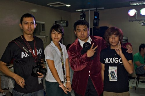 Day 130 of the 26th Year… *Arxigo* Me and the crew of Arxigo covering the 1st PGLC Anniversary. Well, They mostly covered it. This was after the party.