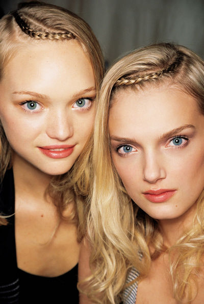 Gemma Ward and Lily Donaldson