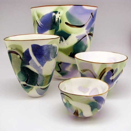 John Shirley: Bone China Bowl Set