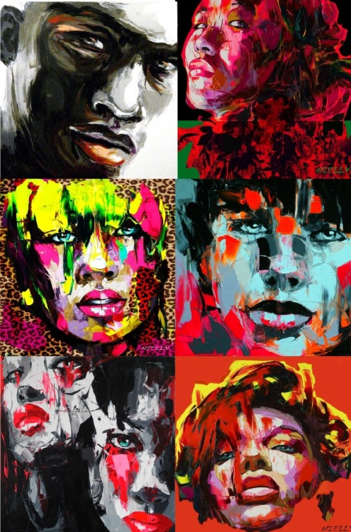 Nielly Francoise; artist.  i am now obsessed with her work  . Thanks JS.