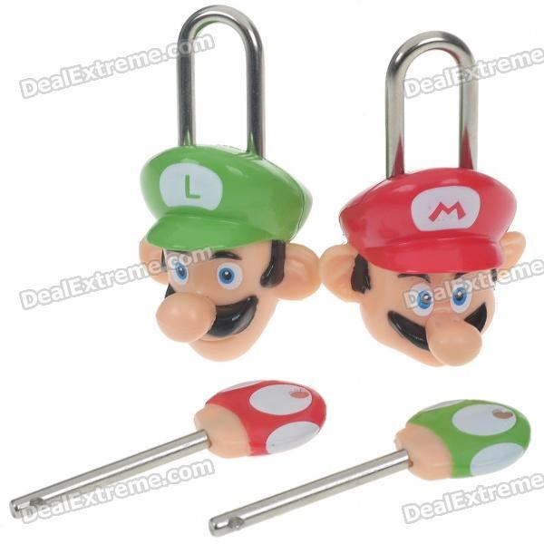 Mario padlocks! Eric's been doing such a spectacular job collecting 3DS information and media, I thought I would return the favor by, uh, linking to some random crap on Dealextreme. I'm either the worst blogging partner ever or doing my best to keep our content varied. These locks are perfect for when you want the security and peace of mind that comes from absolute knowledge that your gym locker will be broken into, and your clothes stolen and/or thrown away. Buy: New Super Mario Bros. games See also: More Dealextreme stuff