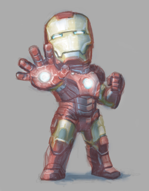 herochan:  Mini Iron Man by Kana Hal (via:tt&rpa)
