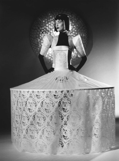 Jum Nakao paper dress