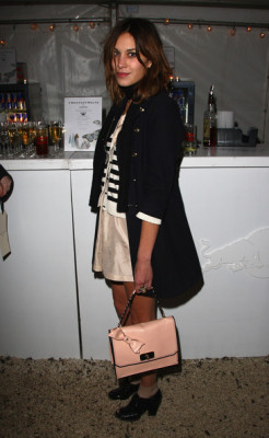 Cardigan: H&M Bag: Chloé Shoes: Mulberry