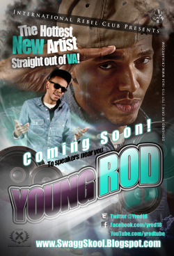Introducing A new young talent from VA! YOUNG ROD. Mix tape coming soon! @yrod18 @rebelclubbrand www.rebel-club.com