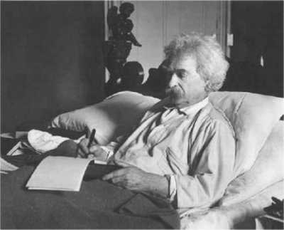 """If I cannot smoke in heaven then I shall not go."" - Mark Twain"