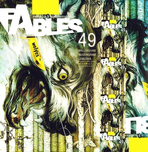 Top Five Fables Covers by James Jean || 5. Fables #49