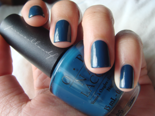 priscillasdf:  OPI Ski Teal We Drop