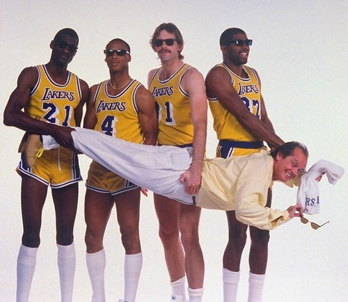 Jack and the Lakers.