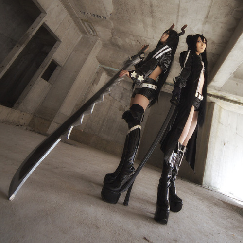 Black Gold Saw and Black★Rock Shooter