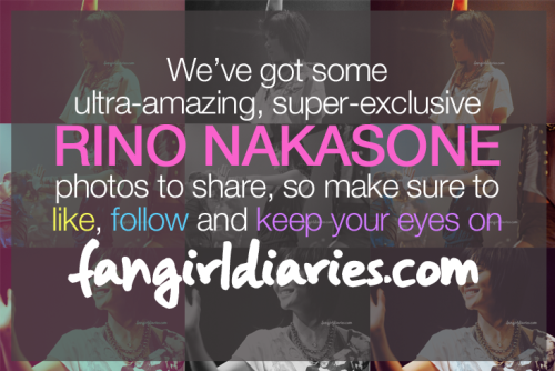 thefangirldiaries:  We have some super exclusive photos of Rino Nakasone — who is an amazing person in real life as she is on the dance floor and on YouTube! Follow Fangirl Diaries thru its website, Facebook and Twitter to get updated on Rino's latest stint in Tokyo, Japan!