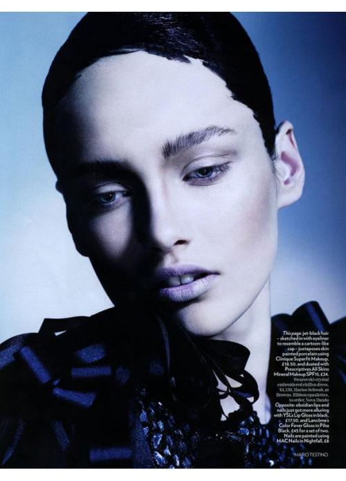 they.call.it.beauty - editorial karmen pedaru . british vogue . november 2008