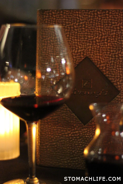 FLEMING'S STEAKHOUSE: MERLOT WINE  Click to Follow: @StomachLife